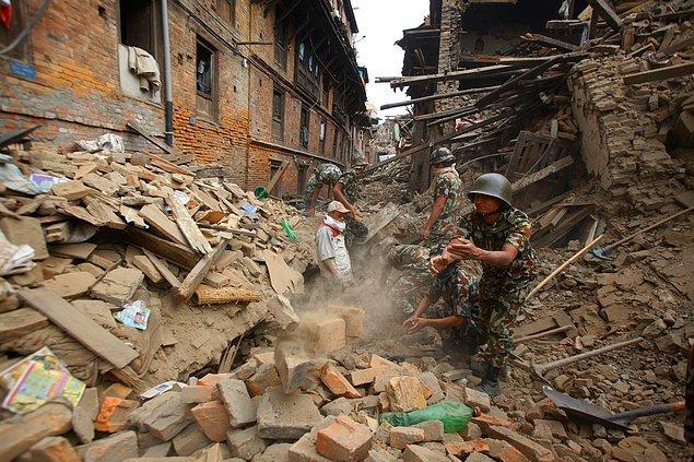 Uluslararası Ajansların Objektifinden Katmandu