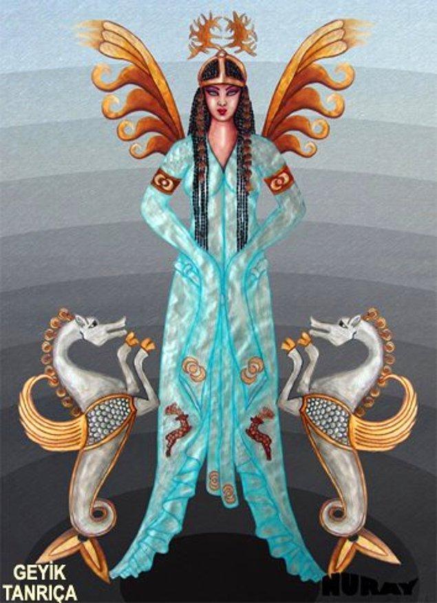 36. Deniz Tanrıçası (Geyik Tanrıça)