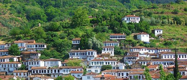10. Bir takım çıkarlar uğruna peşkeş çekilmemiş, dokusu bugüne kadar korunan ve dünyaca tanınan köyleri.
