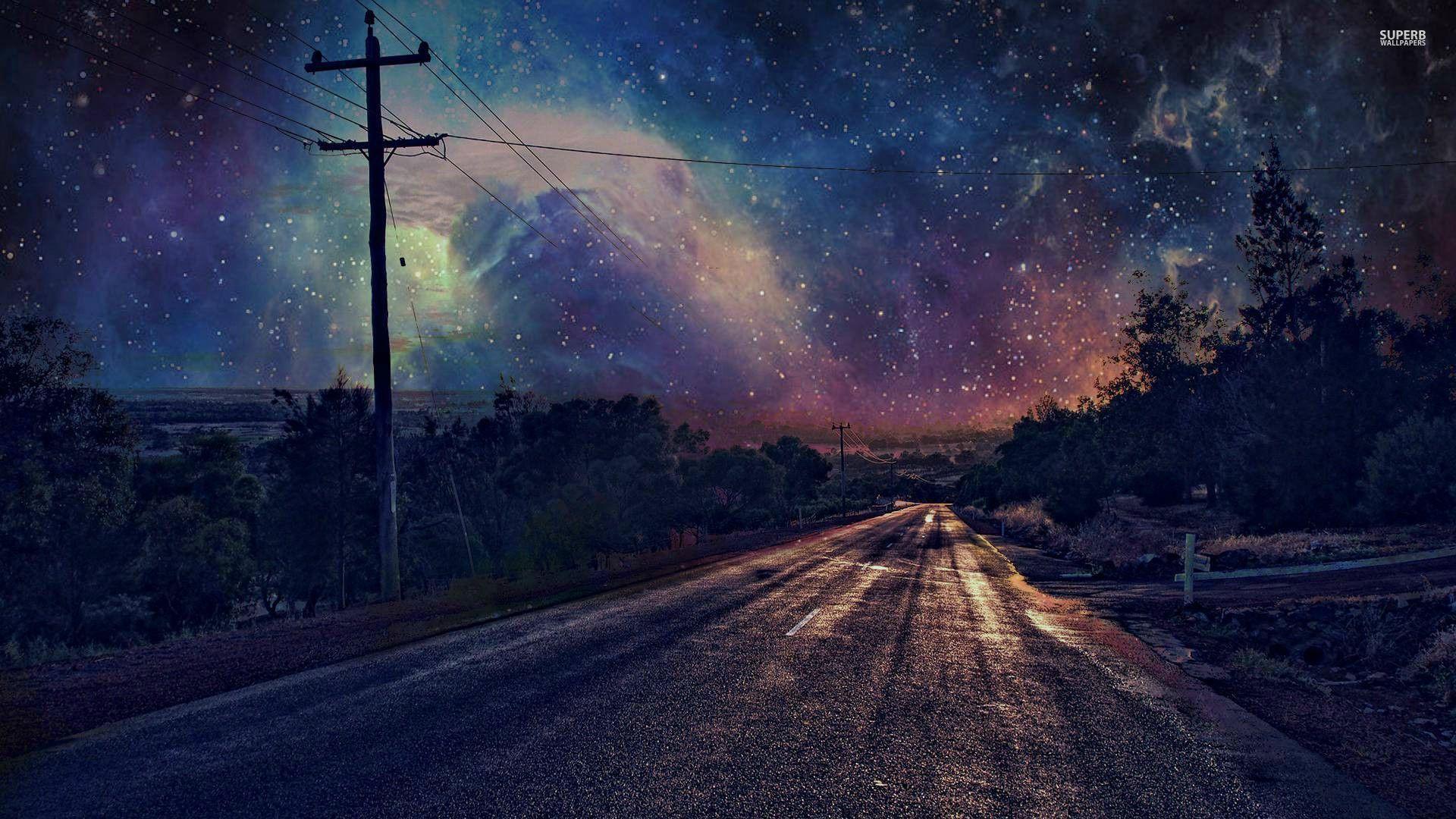 Milky Way on the Night Sky Wallpapers · 4K HD Desktop ...