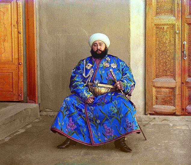 1. Alim Han, Buhara Emiri (1911)