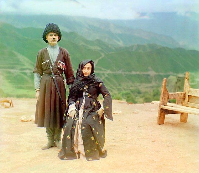 12. Dağıstanlı bir çift (1904)