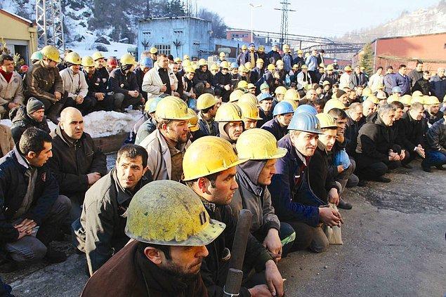 2. Türkiye ölümlü iş kazalarında Avrupa birincisi, Dünya 3'üncüsü.