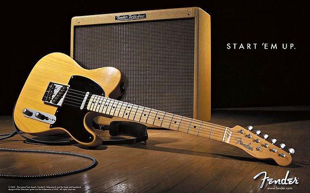 4. Fender Telecaster