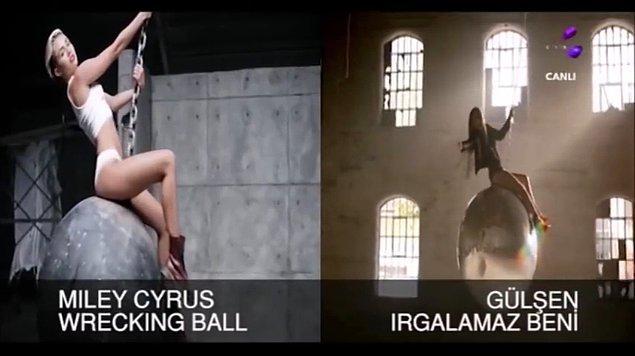 4. Miles Cyrus = Gülşen
