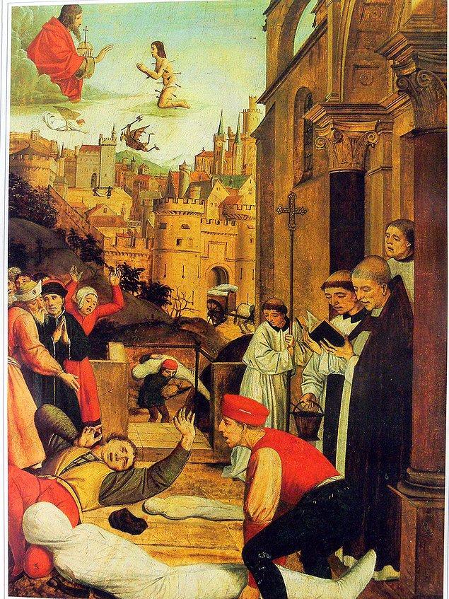 13. 15. yüzyılda Avrupalılar hastalıklarını iyileştireceklerine inandıkları için ceset yerlerdi.