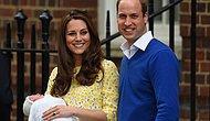 Kraliyet Bebeğinin Adı Açıklandı: Charlotte Elizabeth Diana