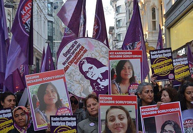 'Kadınların güçlü mücadelesi kadın cinayetlerini geriletti'