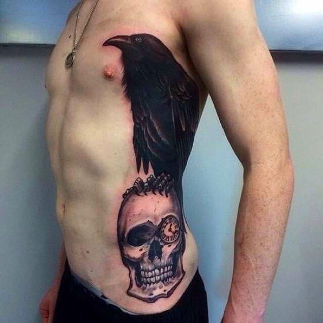 38. Tablo yaptırmış abi resmen vücuduna, ne dövmesi.