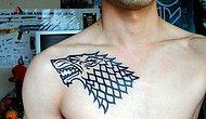 Game of Thrones Fanlarını Kendisine Hayran Bırakacak 50 Dövme