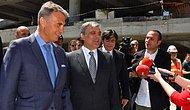 Abdullah Gül Vodafone Arena'yı Ziyaret Etti