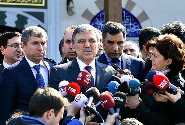 1. Abdullah Gül'den Davutoğlu'na Yanıt: 'Benim de Zihnim Berrak'
