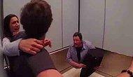Asansörde İkiye Bölünmüş Adam Paniği