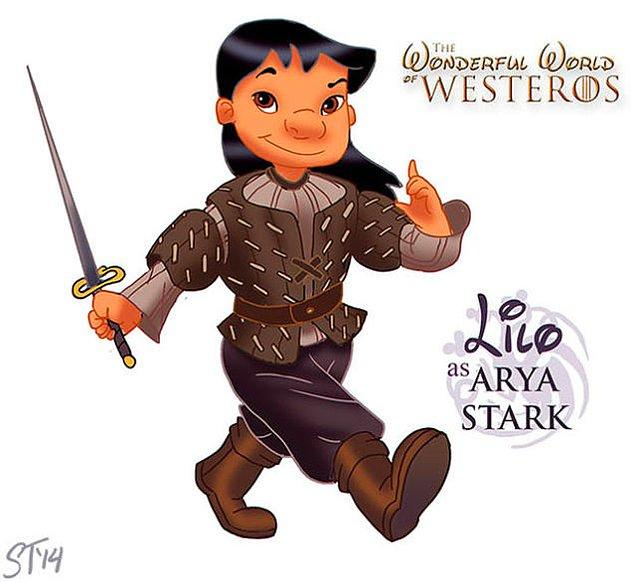 12. Lilo - Arya Stark
