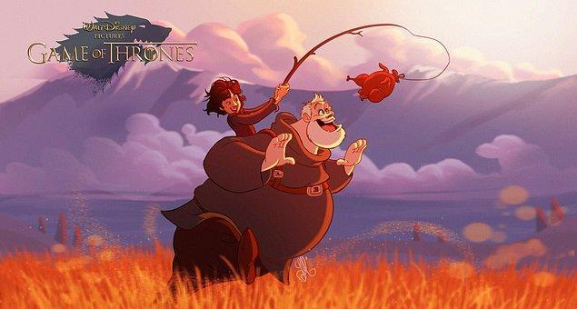 2. Bran Stark ve Hodor