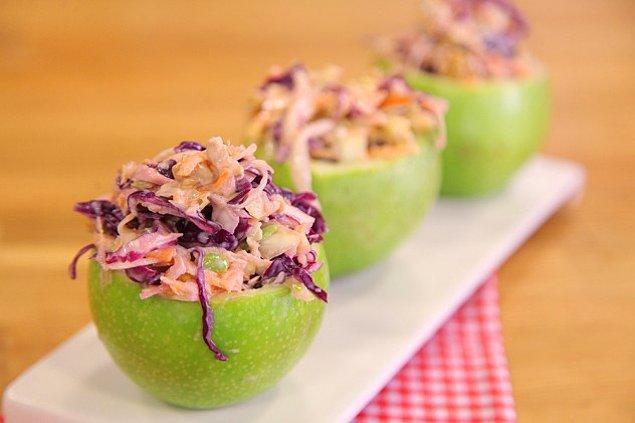 12. Lahananın lezzetli hali coleslaw