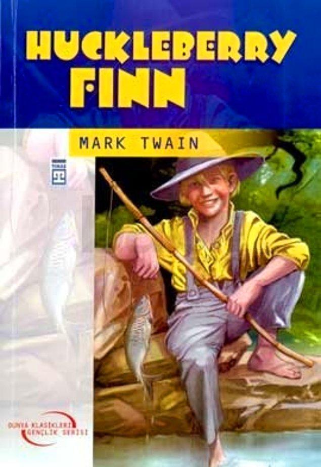 4. Huckleberry Finn'in Maceraları – Mark Twain