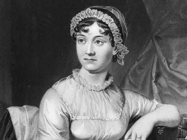 4. Jane Austen – 5