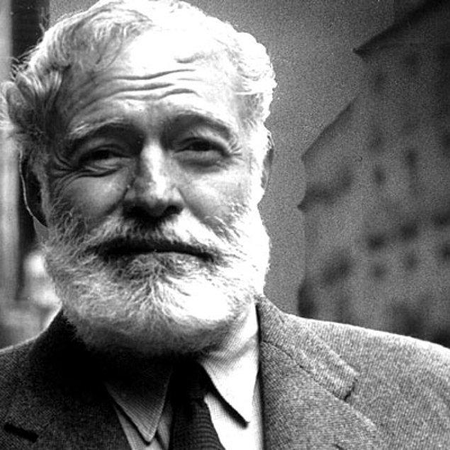7. Ernest Hemingway – 5