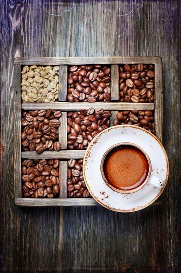5. Diğer kahve türlerine göre daha az kafein içerir.