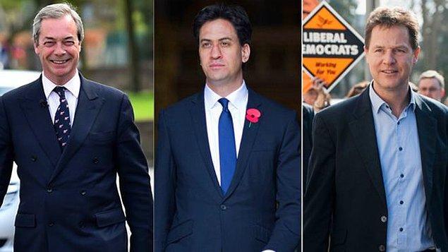 Üç Lider İstifa Etmişti