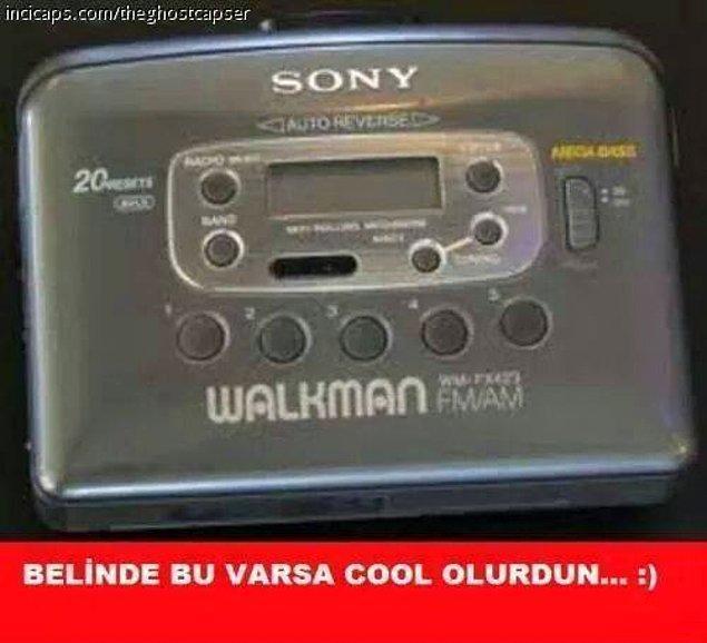 10. Walkman