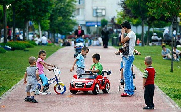 Çocuk nüfusunun oranı azalıyor