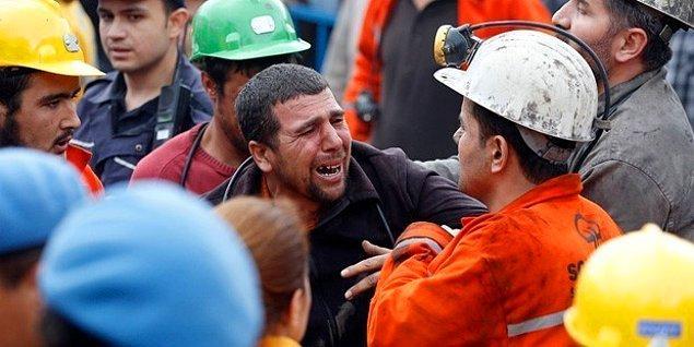 İş arkadaşlarını kurtarmak için canı pahasına madene giren kahramanlar