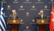Türkiye-Yunanistan Dışişleri Bakanları: 'Ege'yi Barış Denizi Yapacağız'