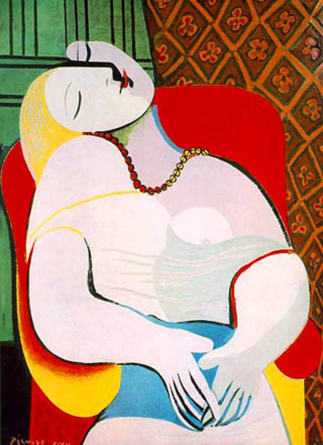Pablo Picasso, Le Rêve, 1932, tuval üzerine yağlı boya, 130x97 cm