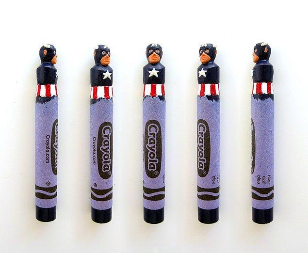 14. Kaptan Amerika