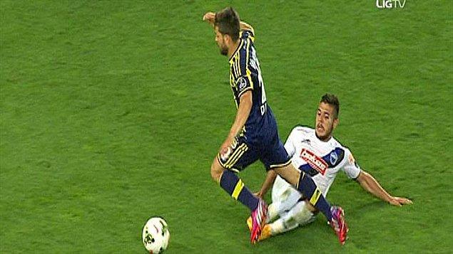"""""""Diego'nun pozisyonu penaltı"""""""