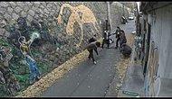Genç Kız Tacize Yeltenen 6 Erkeği Fena Dövdü