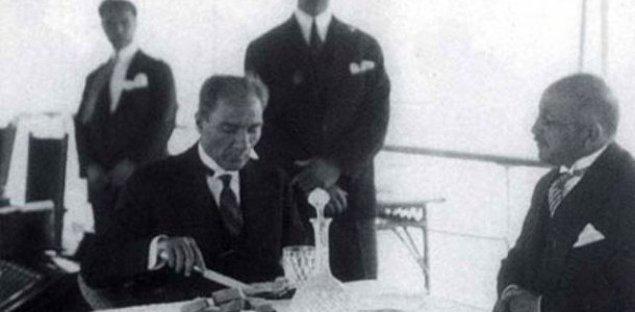 4. İzmir'de Atatürk'le Rum genci arasında geçtiği söylenen şu diyaloğu duymuşluğunuz vardır: