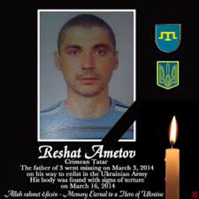 12-Kırım, 2014 yılının Şubat ayında Rusya tarafından tekrar işgal edildi. O günden sonra 21 Kırım Tatarı kaçırıldı. 3'ünün işkence görmüş cesedi bulundu. Kırım Tatarlarına karşı şiddet olayları arttı. Kırım Tatarları her gün ev aramaları, soruşturmalar ve yüksek para cezalarıyla karşılaşır oldu. Kırım Tatar liderlerinin Kırım'a girişleri yasaklandı. Milli kuruluşlar kapatıldı. 18 Mayıs sürgün ve soykırımını anma toplantıları yasaklandı. Kırım Tatarlarına karşı yeni sürgün tehditleri de artık sıkça duyulur oldu.