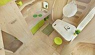İsveç'te Öğrenciler İçin Hazırlanmış Mikro Boyutlu Makro Kullanışlı 10 m2'lik Akıllı Evler