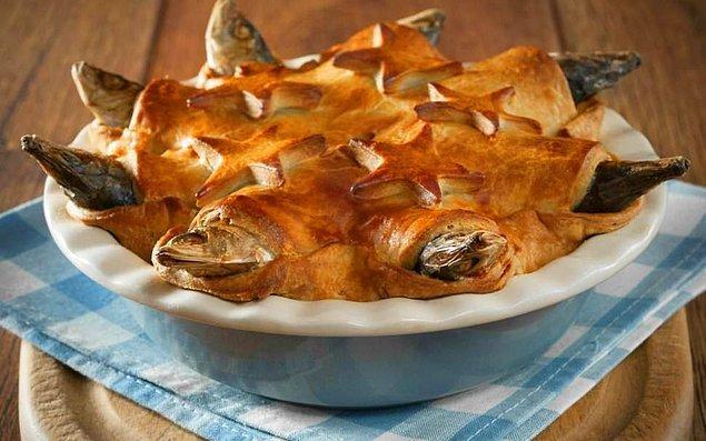 Balık başlı pasta - İngiltere