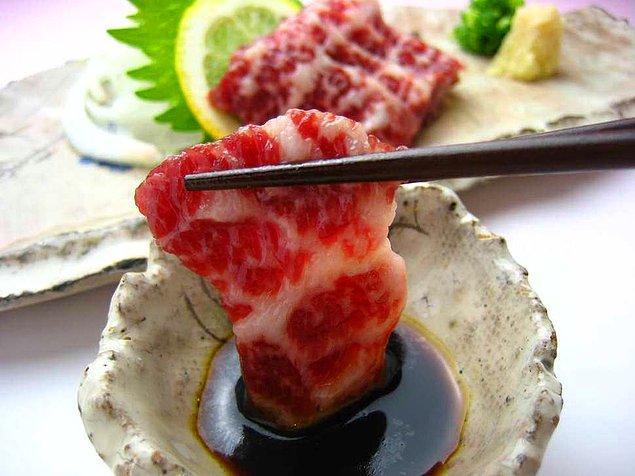 Çiğ at eti - Japonya