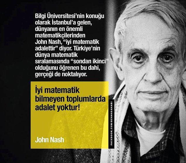 Bilgi Üniversitesinin Konuğu Olarak İstanbul'a da Gelmişti