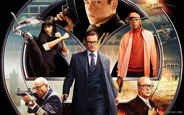 4. Kingsman: Gizli Servis (2014)  | IMDb 7.9