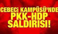 Cebeci Kampüsü'nde PKK-HDP saldırısı!