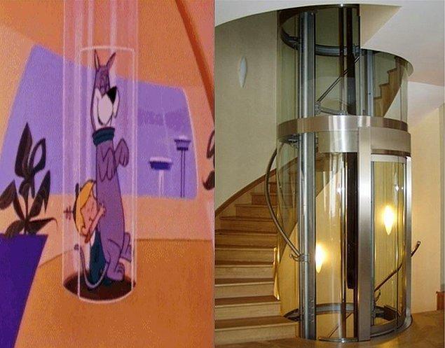 3. Tüp Asansör