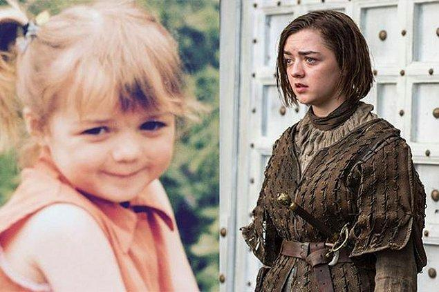 4. Maisie Williams – Arya Stark
