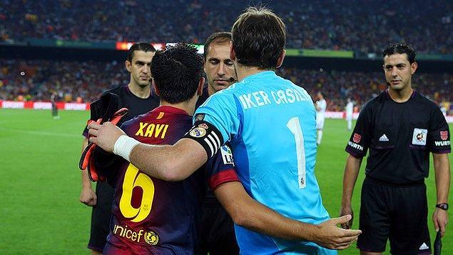 En çok forma giyenler Xavi ve Casillas