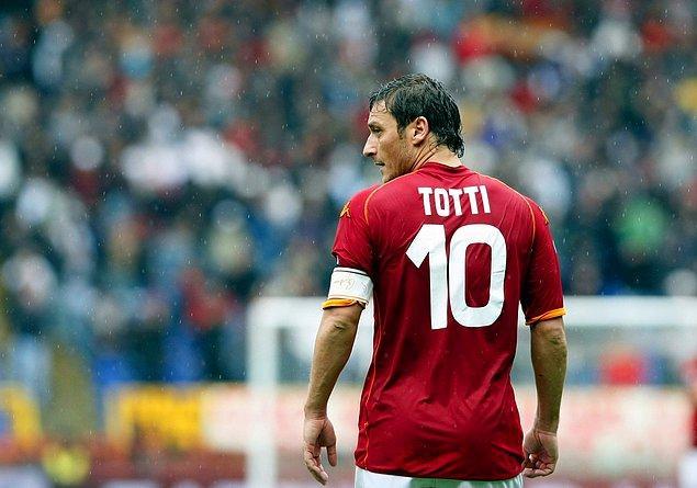 En yaşlı golcü Totti