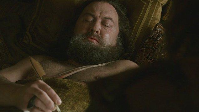 Kral Robert Baratheon: Acımı Dindirecek Bir Şey Verin ve Bırakın Öleyim.