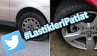 Esrarengiz Plakasız Araçlara Karşı Sosyal Medyadan Karşı Atak: #LastikleriPatlat