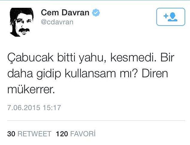 3. Cem Davran