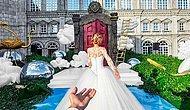 El Ele Çektikleri Fotoğraflarla Ünlü Olan Çift Bu Kez Düğün Fotoğrafları ile Geri Döndü