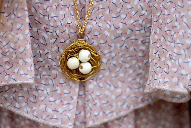 6. Böyle tatlış bir yumurta sepetine sahip olmak da sizin elinizde :)
